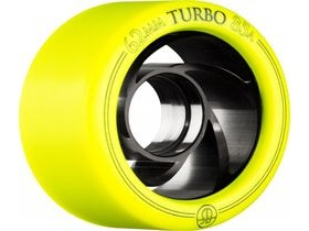 ROLLERBONES Derby Turbo Aluminum, Yellow (8 Pack)