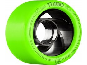 ROLLERBONES Derby Turbo Aluminum, Green (8 Pack)