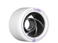 ROLLERBONES Derby Turby Aluminum, White (4 Pack) click to zoom image