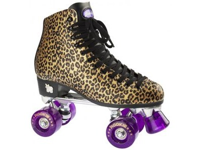 ROOKIE Classic, Gold Leopard Skates