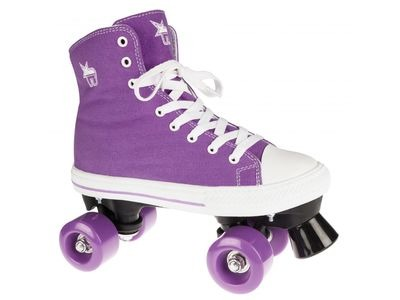 ROOKIE Canvass High Purple Skates