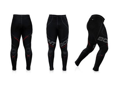 BONT Hi-Performance Compression Tights Black