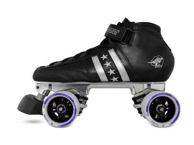 Bont Quadstar Boots with Athena Plate, FX Wheels