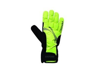 Oxford Wind Shield Hi Vis Gloves