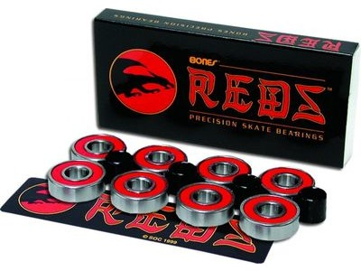 BONES Bearings Reds  (Pack 8)