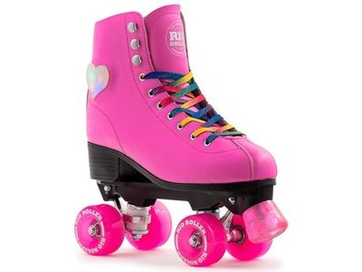RIO ROLLER Figure Lights Quad Skate Pink