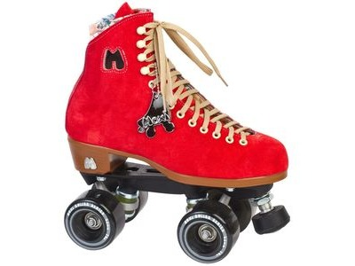 MOXI Lolly Poppy Red Skates
