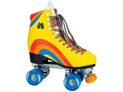 Moxi Rainbow Rider Skates Sunset Yellow