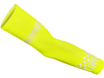 COMPRESSPORT Pro Racing Armsleeves Fluo - Yellow