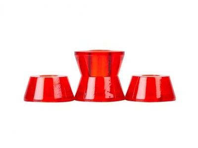 CLOUDS URETHANE Bushings, Conical, (Pack of 4) 79a Red  click to zoom image