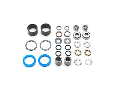 HT Components Pedal Rebuild Kit Evo+: AE01,3,5/ME01,3,5 Pedals - Includes, bearings, washers, end nuts, Orings