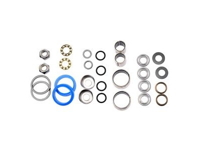 HT Components Pedal Rebuild Kit Evo: AE01,3,5/ME01,3,5 Pedals - Includes, bearings, washers, end nuts, Orings