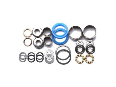 HT Components Pedal Rebuild Kit Evo2: AE02/ME02 Pedals - Includes, bearings, washers, end nuts, Orings
