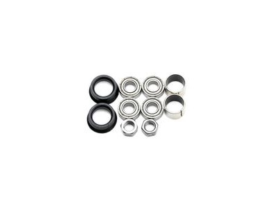 HT Components Pedal Rebuild Kit PA-03A/PA-12 Pedals - Includes, bearings, washers, end nuts, Orings