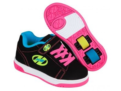 HEELYS Dual Up Black/neon/Multi