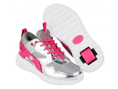 HEELYS Force Silver/Grey/Pink
