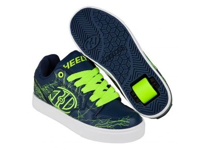 HEELYS Motion Plus Navy/Bright Yellow/Electricity