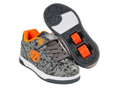 HEELYS Dual Up Grey/Charcoal/Orange
