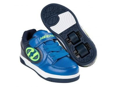 HEELYS Plus Lighted Navy/Blue/Yellow