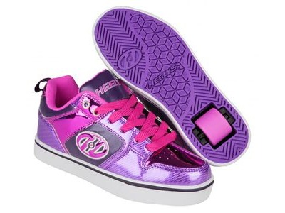 HEELYS Motion Plus Purple/Pink Shimmer/Grape