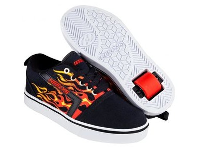 HEELYS GR8 Pro Black/Red/Flames