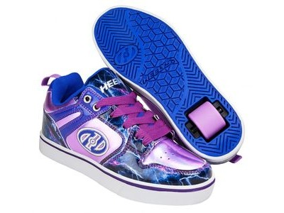 HEELYS Motion Lilac/Electric Blue/Lightning