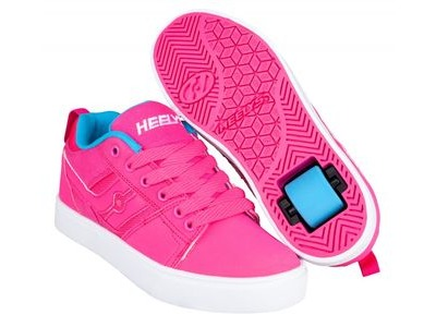 HEELYS Racer Hot Pink Light Blue