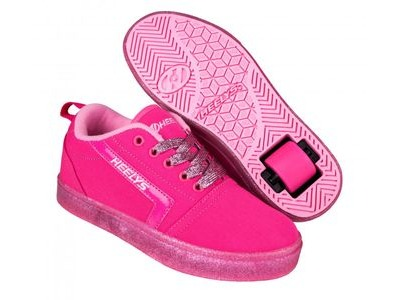 HEELYS GR8 Pro Hot Pink Light Pink Glitter