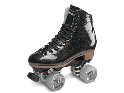 SURE GRIP Stardust Outdoor Black Skates