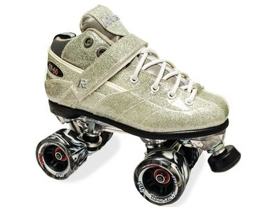 Sure Grip Rock GT50 Silver Sparkle Skates