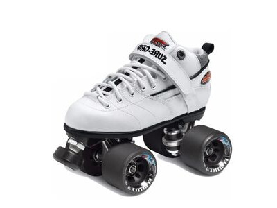 Sure Grip Rebel Derby Whites Skates