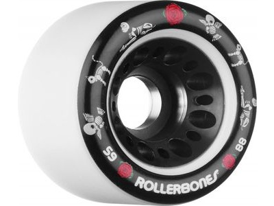 ROLLERBONES Pet Day of the Dead Wheels White
