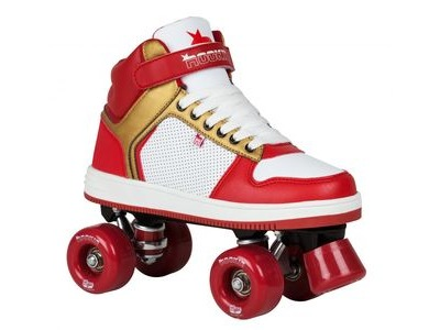 ROOKIE Hype Hi Top Trainier Red/Gold Skates