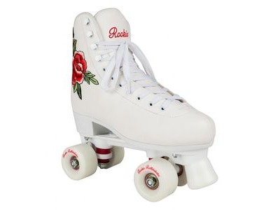 ROOKIE Rosa White Skates - UK2 -UK5