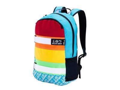 187 KILLER Standard Issue Backpack Rainbow
