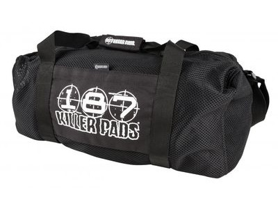 187 KILLER Standard Mesh Duffel 10 Bag Black