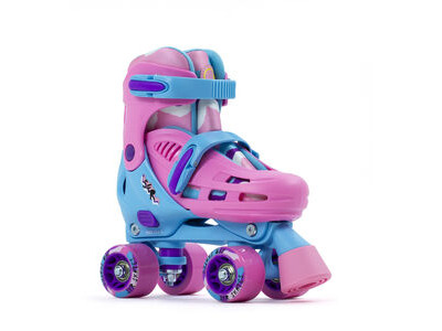 SFR Hurricane III Adjustable Skates, Pink/Blue