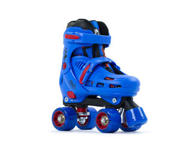 SFR Storm IV Adjustable Quad Skates, Blue
