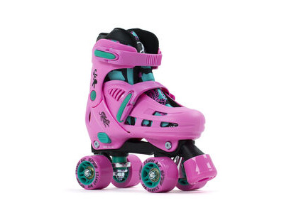 SFR Storm IV Adjustable Quad Skates, Pink