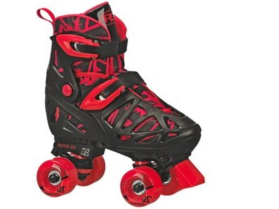 ROLLER DERBY Trac Star Quad Black/Red Skates