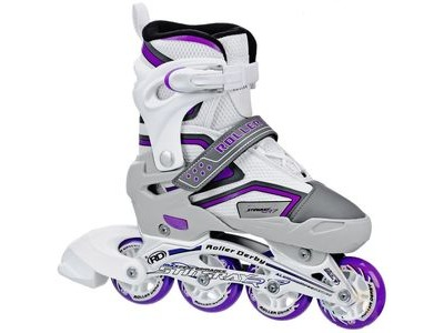 ROLLER DERBY Stingray R7 Adjustable White/Lilac
